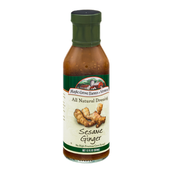 Maple Grove Farms of Vermont All Natural Dressing Sesame Ginger