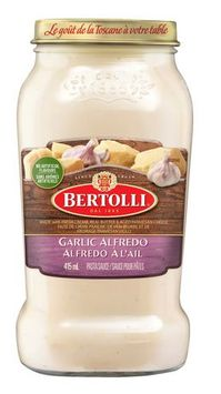 Bertolli Garlic Alfredo Pasta Sauce