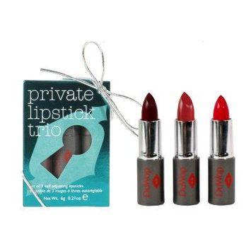 DuWop Mini Private Lipstick Trio - Holiday 2014, Darker