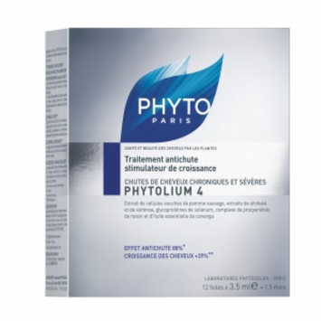 PHYTO Phytolium 4 thinning hair treatment, 12 vials