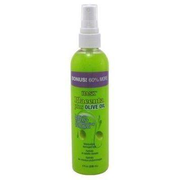 Hask Placenta Leave-In Conditioner Treatment Olive Oil 8oz Bonus (2 Pack)