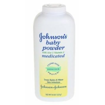 Johnson's® Baby Powder Medicated