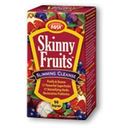 KAL Skinny Fruits Slimming Cleanse - 90 Veggie Caps - Other Supplements