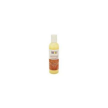 Aura Cacia Cinnamon/Ylang Ylang  Aromatherapy Massage Cream  4 oz.  bottle 188539
