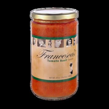Francesca's Tomato Basil Sauce