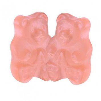 Albanese Confectionery Gummies, Pink Grapefruit Gummy Bears, 5-Lb Bag