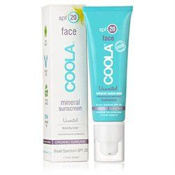 COOLA Mineral Face SPF 20 Unscented Moisturizer