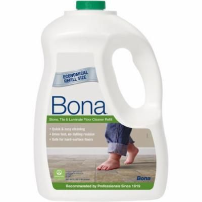 Bona Stone, Tile & Laminate Floor Cleaner Refill, 96 fl oz