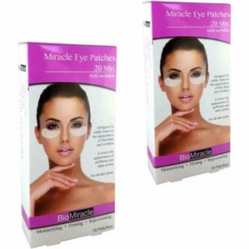 BioMiracle Anti-Wrinkle Eye Patches, 10 count, (Pack of 2)