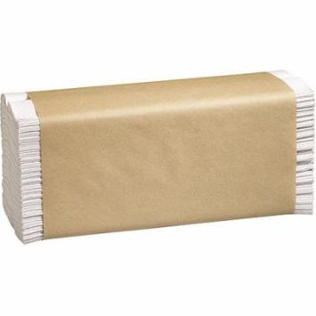 Marcal C-Fold Paper Towels, White, 16 Packs of 150 sheets, 2400 Total