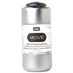 ONE Condoms Move Personal Lubricant, 3.38 oz