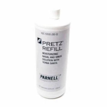 Pretz Refill Moisturizing Nasal And Sinus Solution With Yerba Santa - 32 Oz