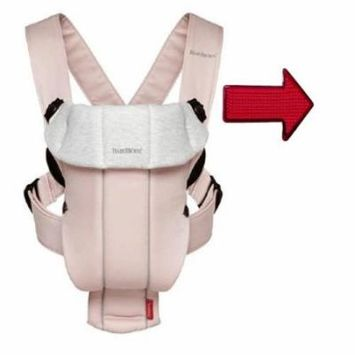 Baby Bjorn 023089USK Baby Carrier Original Light Pink And Grey One Free Safety R