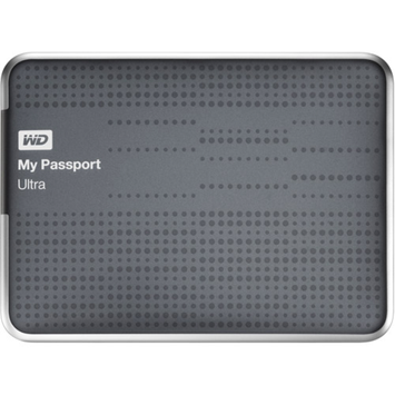 Western Digital WD 1TB My Passport Ultra Hard Drive - Titanium