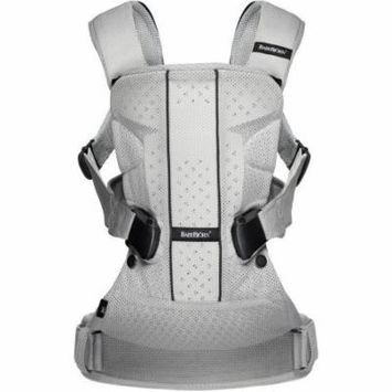 BabyBjorn Baby Carrier One Air, Silver, Mesh