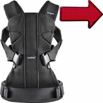 Baby Bjorn 093023USK Baby Carrier One - Black With Safety Reflector Light