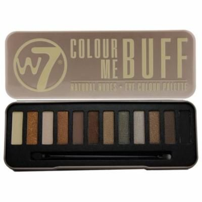 W7- Color Me Buff Natural Nudes - 12-in-1 Eyeshadow Palette