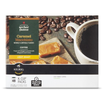 Archer Farms Caramel Macchiato Coffee Club Pack 48 ct