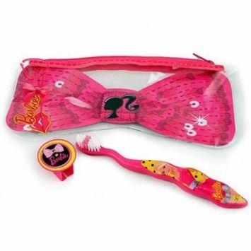 Barbie 672935763178 Smile Guard Travel Toothbrush