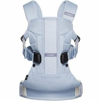 BabyBjorn Baby Carrier One Air, Ice Blue Fish, Mesh