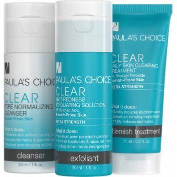 Paula's Choice CLEAR Two Week Travel Kit - Extra Strength - Travel Kit