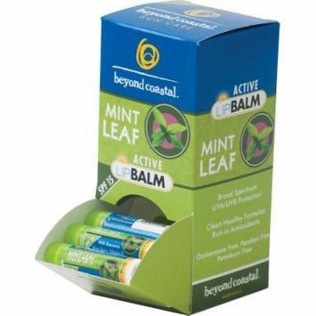 Beyond Coastal Lip Balm: Mint, Box of 36