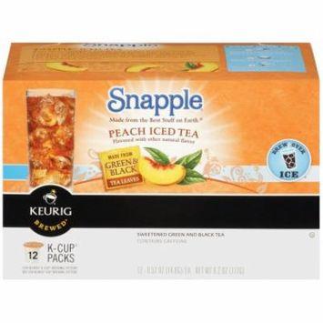 Snapple Peach Iced Tea K Cups, 12 CT (Pack of 6)