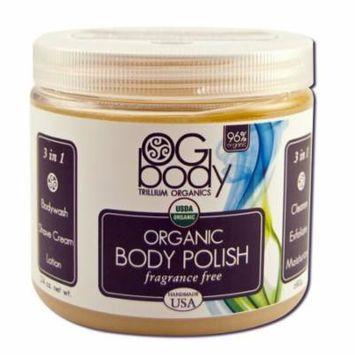 Trillium Organics - Hypo-Allergenic Body Polish, 16 oz