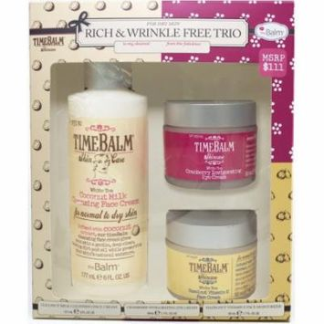 theBalm Rich and Wrinkle Free Trio For Dry Skin Kit