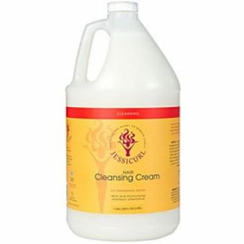 Jessicurl Hair Cleansing Cream, No Fragrance, Gallon.