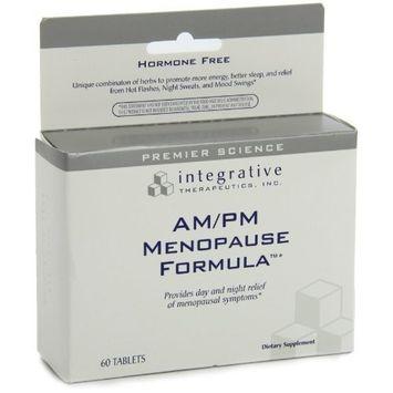 Integrative Therapeutic's Integrative Therapeutics Am/Pm Menopause Formula, 60 Tablets