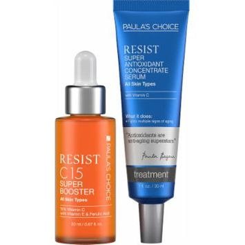 Paula's Choice RESIST C15 Super Booster + RESIST Super Antioxidant Concentrate Serum - Complete Duo