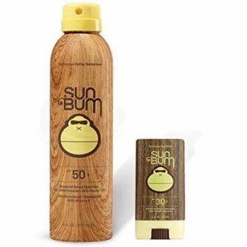 Sun Bum SPF 50 Spray Sunscreen + Face Stick SPF 30