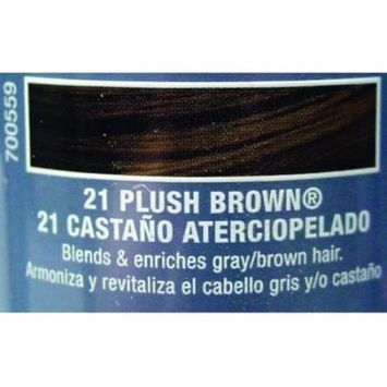 Roux Fanci-Full Temporary Hair Color Mousse - #21 - Plush Brown 6 oz. (Pack of 6)