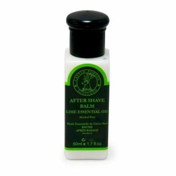 Castle Forbes Lime Essential Oil Alcohol Free Aftershave Balm, Travel 50ml