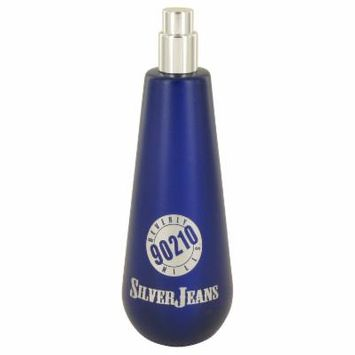 90210 Silver Jeans for Men by Torand EDT Spray (Tester) 3.4 oz