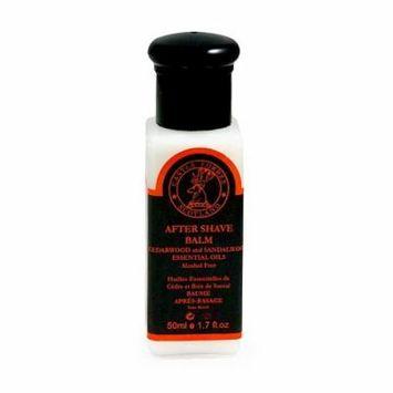 Castle Forbes Cedarwood & Sandalwood Essential Oil Aftershave Balm, Travel 50ml