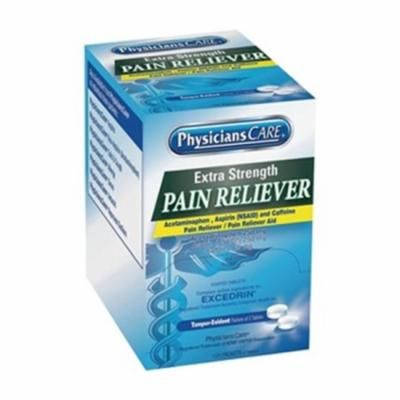 Pain Reliever, Tablet, PK125