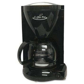 Original Gourmet Food Co. Coffeepro CP6B Coffeemaker, 4-Cup, 6-1/2 in.x7-1/4 in.x10 in., Black