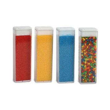 Duff Goldman by Gartner Studios Sprinkle/Sugar Set of 4 - #1 Primary, 5.2 Ounce Net. Wt.(Pack of 3)