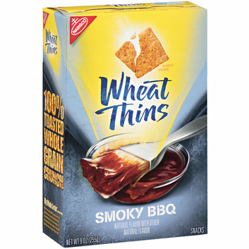 Nabisco Wheat Thins Smoky BBQ Snacks