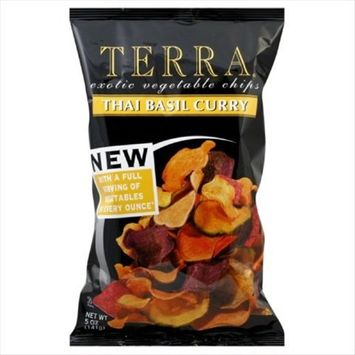 Terrapin Outdoor Systems Terra Thai Basil Curry Exotic Vegetable Chips, 5 Ounce -- 12 per case.
