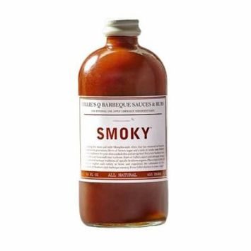 LILLIES Q SAUCE BBQ SMOKEY, 16 OZ (Pack of 6)