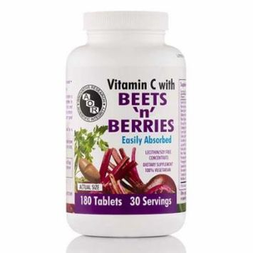 Beets N Berries with Vitamin C - 180 Tablets by Advanced Orthomolecular Research
