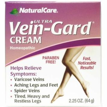 Natural Care Homeopathic Ultra Vein-Gard Leg Therapy Cream, 2.25 OZ