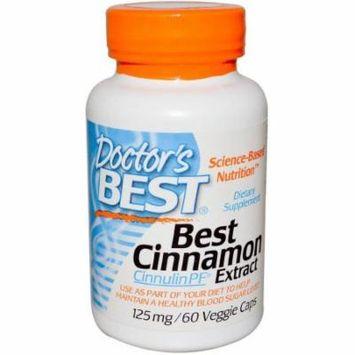 Doctor's Best Cinnamon Extract Cinnulin, 60 CT