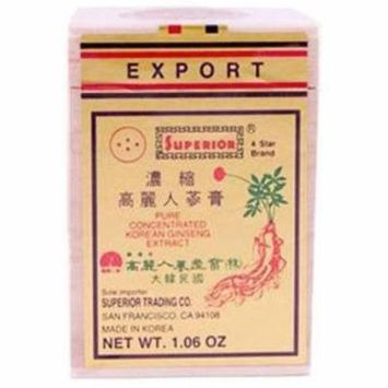 Superior Trading Ginseng Concentrated Extract Paste, 1 FL OZ