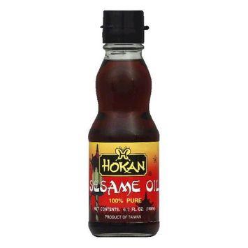 Hokan Oil, Sesame, Pure, 6.2 fl oz, - Pack of 6