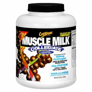 CytoSport Muscle Milk Collegiate Calorie Replacement Mix