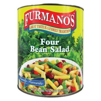 Furmano's Four Bean Salad 6 - #10 Cans / Case